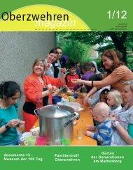 Program m Ferienbündnis Oberzw ehren – 2012 - Frauentreff ...