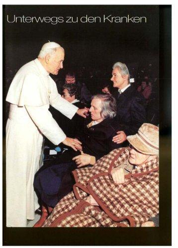Unterwegs zu den Kranken 1987 - Schwesternschaft der ...