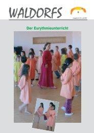 Der Eurythmieunterricht - Freie Waldorfschule Lörrach