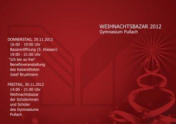 das bayerische Schülerquiz - Bazar