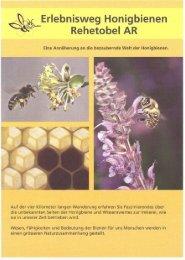 Erlebnisweg Honigbienen - Imkerverband St. Gallen-Appenzell