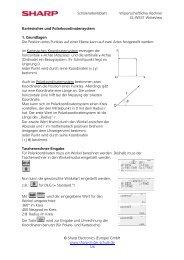 GmbH www.sharp-in-der-schule.de - Sharp Electronics Europe GmbH