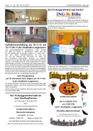 Ausgabe Nr. 18 vom 19.10.2012 Seite 11 - Langenzenn