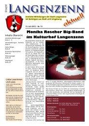 Ausgabe Nr. 13 vom 13.07.2012 Seite 1 - Langenzenn