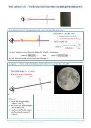 Der Jakobsstab – Winkel messen und Streckenlängen bestimmen