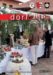 Dorfziitig Dezember 2012 - Gemeinde Winkel