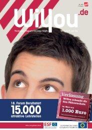 attraktive Lehrstellen 18. Forum Berufsstart - WiYou Thüringen ...
