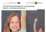 Die Sächsische Strategie der systematischen Berufs- und ...
