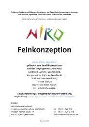 Feinkonzeption Niko Lüchow - Landkreis Lüchow-Dannenberg