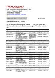 Info 09 Schuljahr 2009/2010 - Die Staatlichen Schulämter des ...
