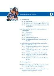 D - Allgemein bildende Schulen - Landesbildungsserver Baden ...