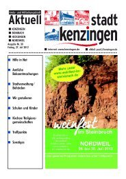 Ausgabe 30 2012 - Kenzingen