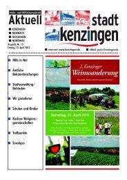 Ausgabe 15 2012 - Kenzingen