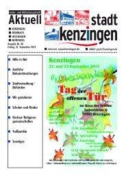 PDF, Stand 21.09.2012 - Kenzingen