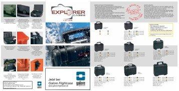 Explorer Preisliste 2008-2009 - Galore Flightcase GbR