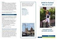 Unfall im Ausland Was ist zu tun? - Unfallkasse Rheinland-Pfalz