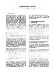 Richtlinien für Schulfahrten - Unfallkasse Rheinland-Pfalz