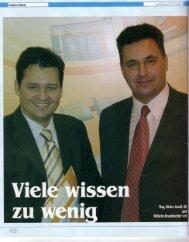 Mag. Dieter Jandl, (ü) und