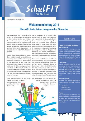 1 free Magazines from INITIATIVE.MILCH.DE
