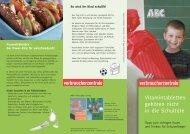 Faltblatt zur Schulverpflegung - vzbv