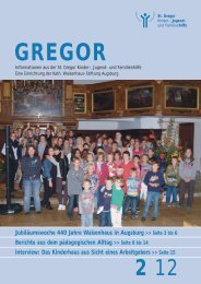 Gregor 2012-2.pdf - St. Gregor Jugendhilfe