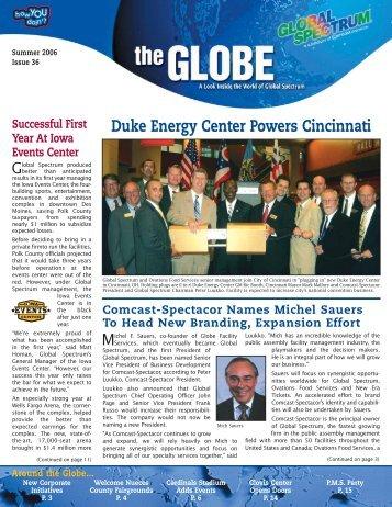 Duke Energy Center Powers Cincinnati - Global Spectrum