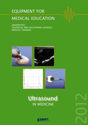 Brochure Medical Education - gampt
