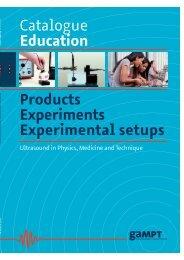 Catalogue Education 2013 - gampt