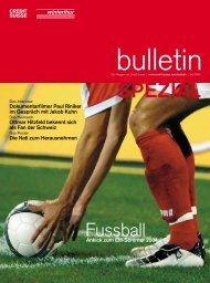 Bulletin - Credit Suisse eMagazine - Deutschland