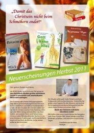 Neuerscheinungen Herbst 2011 (PDF, ca.1,7 MB - BOAS-Verlag