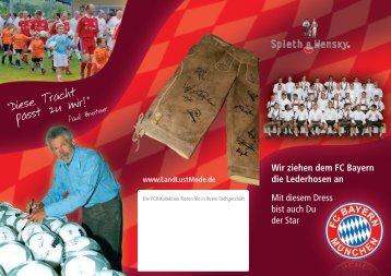 FC Bayern München - Spieth & Wensky