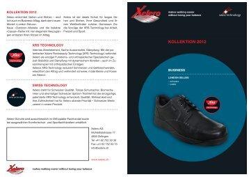 Übersicht Kollektion 2012 - Xelero
