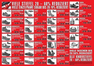 VIELE STIEFEL 20 – 60% REDUZIERT - Weiss Schuhe