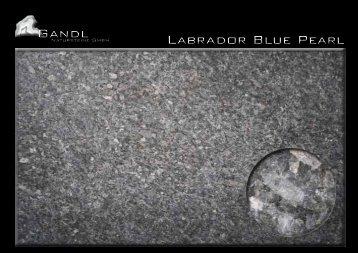 Gandl Labrador Blue Pearl - Gandl Natursteine GmbH