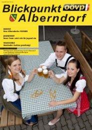 Alberndorfer FESTBIER JUGENDTREFF Unser ... - ÖVP Alberndorf