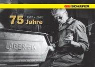 75 Jahre SSI SCHÄFER