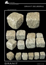 Granit Gelbgrau - Gandl Natursteine GmbH