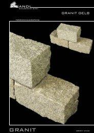 Granit Gelb - Gandl Natursteine GmbH