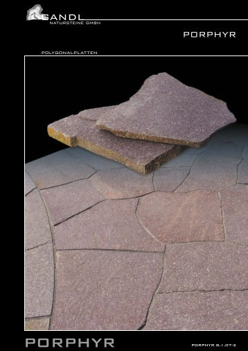 Polygonalplatten Viola - Gandl Natursteine GmbH