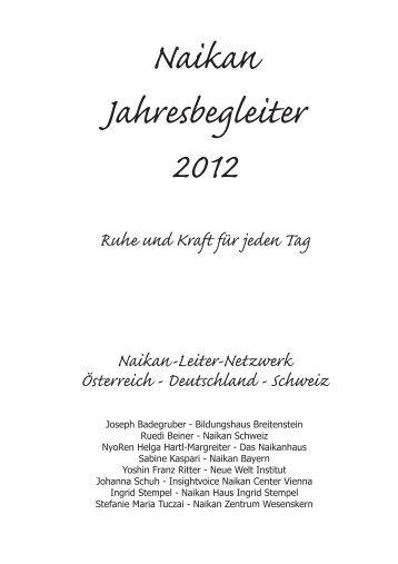 Leseprobe download > .pdf - Insightvoice Naikan Center Vienna