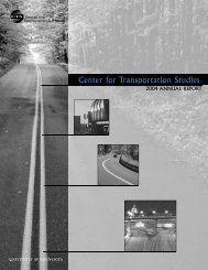 2004 CTS Annual Report - Center for Transportation Studies ...