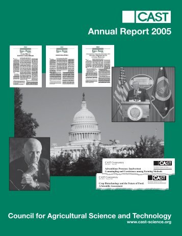 Annual Report 2005 - Council for Agricultural Science and Technology