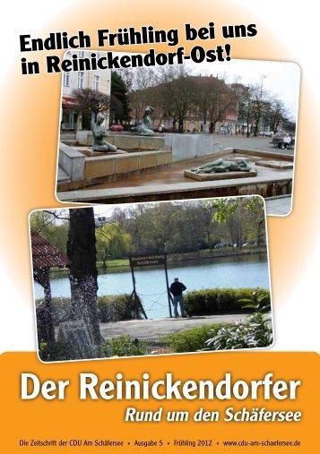 Der Reinickendorfer - CDU Am Schäfersee