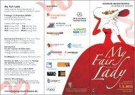 My Fair Lady - Kolping-Musiktheater