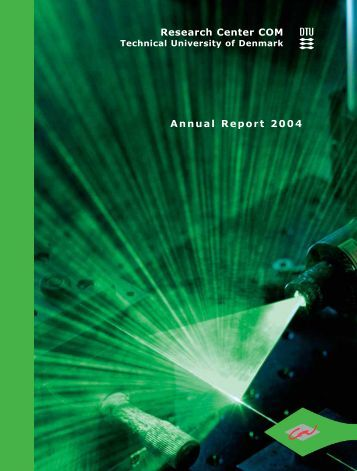 Annual Report 2004 Research Center COM - DTU Fotonik