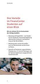 Unser FinanzCenter Studenten - Sparkasse Herford - Seite 4
