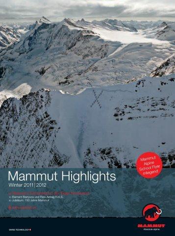 Mammut Highlights - Mammut Sports Group