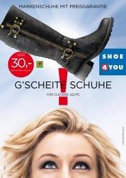 G'SCHEITE SCHUHE - Shoe4You