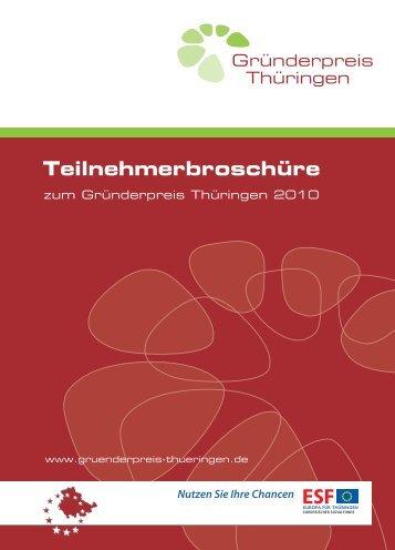 Teilnehmerbroschüre - Beratungsnetzwerk Gründen und Wachsen ...