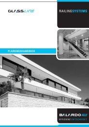 Planungshandbuch BALARDO ALU (PDF, 9,1 MB) - Glassline GmbH